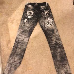 "PRPS Jeans - PRPS ""demon fit"" distressed jeans"
